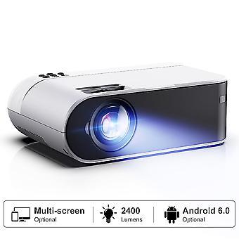1080p Full Hd Wifi Filmprojektor med synkroniserad smartphoneskärm