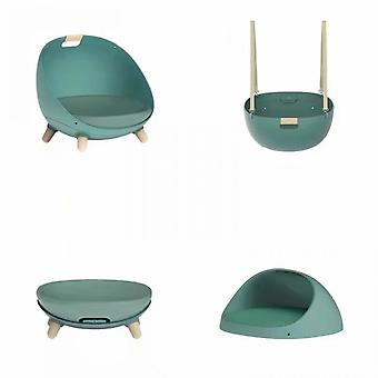 Four Seasons General Small Dog House Cat House Can Be Made Swing Hammock / Floor Sofa / Lying Cushion / Pet Room-pink