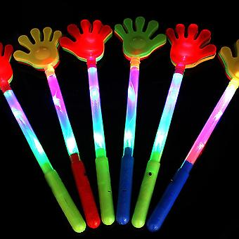 أدى أيدي التصفيق لعبة، مضيئة النخيل التصفيق الاطفال لدعائم الحفل، الحزب