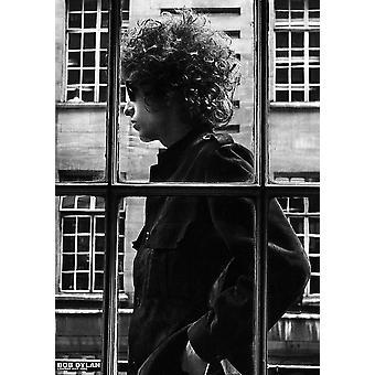 Bob Dylan ventana Poster Poster Print