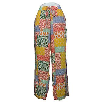 Tolani Collection Women's Pants Reg Printed Palazzo Purple A373847