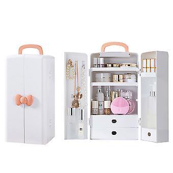 Staubdichte entzückende Kosmetik Schmuck Aufbewahrungsbox mit Griff