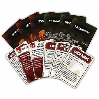 The Walking Dead: All Out War: Teamwork and Event Cards
