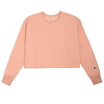 Champion Cropped Reverse Weave 112692PS138 universal all year women sweatshirts