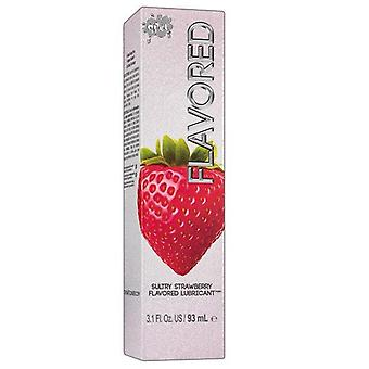 Wet Flavored Strawberry Flavored Lubricant - 3.1 fl oz