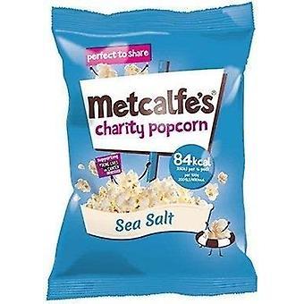 Metcalfe's Skinny Sea Salt Topcorn 17g x24