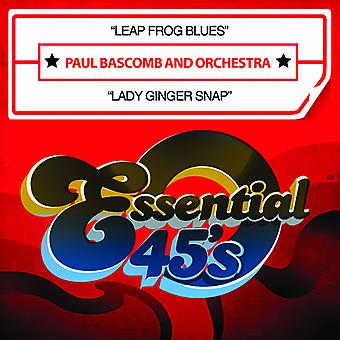 Paul Bascomb & Orchester - Leap Frog Blues / Lady Ginger Snap USA Import