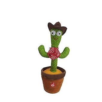 Interactive Dancing Cactus Toy Singing Repeating Illumine plusieurs chansons