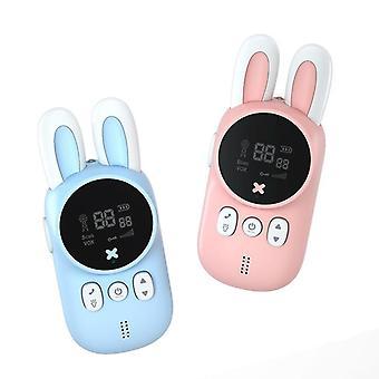 2pcs Children's Walkie Talkie Mini Toys Handheld Transceiver
