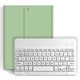 ワイヤレスBluetoothキーボード(Ipad用ケース付きケース 10.2 2019)、鉛筆ホルダーケース付き Apple Ipad 第7世代A2200 A2198