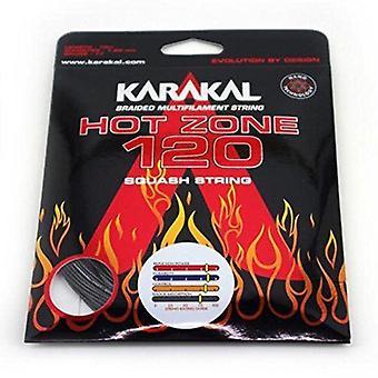 Karakal Hot Zone 120 Squash Racket Strings - Kestävä nano elastomeeripinnoite