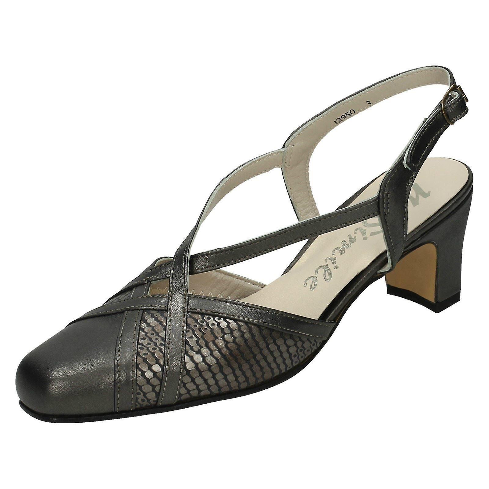 Ladies Nil Simile Narrow Fitting Formal Shoes Bandana HGVWO