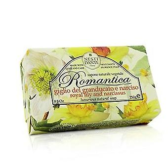 Nesti Dante Romantica Luxurious Natural Soap - Royal Lily & Narcissus - 250g/8.8oz