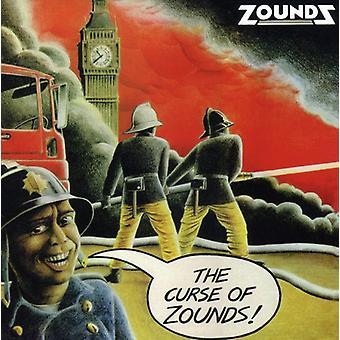 Zounds - Curse of Zounds [CD] USA import