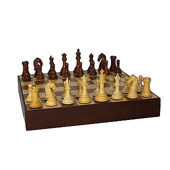 Камелот Sheesham шахматы шахматы орех груди