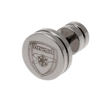 Arsenal Stainless Steel Stud Earring