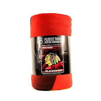 Chicago Blackhawks NHL Northwest Fleece Throw