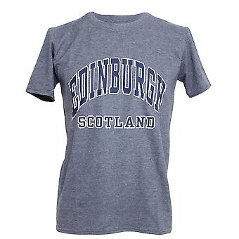 Mens Edinburgh Scotland Print Short Sleeve T-Shirt/Top