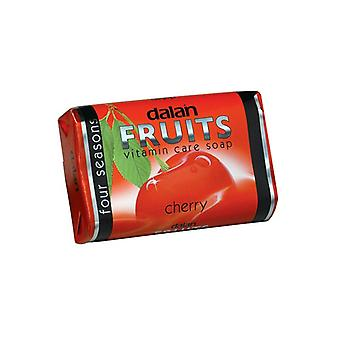 Cuidado de vitamina frutas Dalan jabón cereza 6-Pack 6x75g