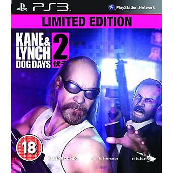 Kane and Lynch 2 Dog Days - Limited Edition (PS3) - New