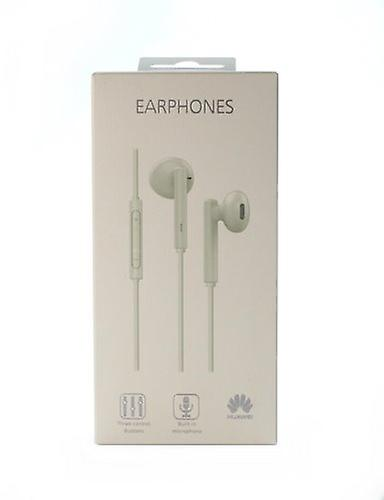 Huawei bulk Am115 headset earphones with remote control, microphone white for Smartphone