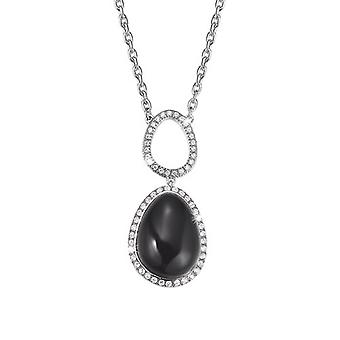 Esprit Collection Damen Kette Collier Silber Nyxia ELNL92444A420