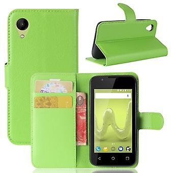 Pocket plånbok premium green-till WIKO soliga 2 skydd ärm fall täcka påse nya