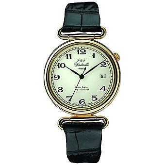 J&T Windmills Mens Throgmorton Mechanical Gold Plated WGS50002/18 Watch