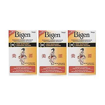Bigen Powder Hair Color #96 Deep Burgundy