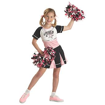 All Star Cheerleader Sport Dress Up Girls drakt