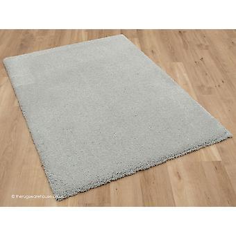 Confortable tapis gris clair