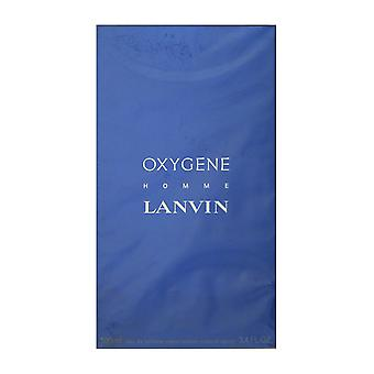 Lanvin Oxygene Homme Eau De Toilette Spray 3.4 Oz/100 ml neu In Box