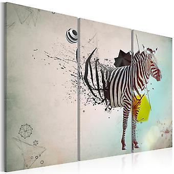 Quadro - zebra - astratto