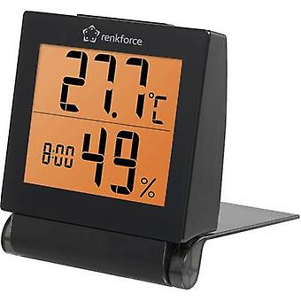 Renkforce Thermo-hygrometer Black
