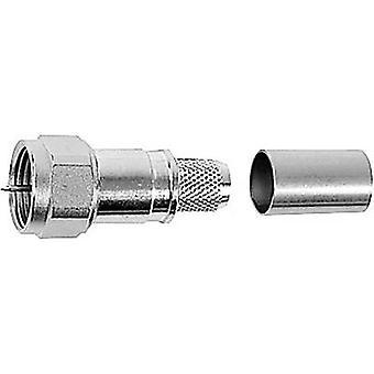 Telegärtner J01600A0010 F wtyczka złącza, prosta 75 Ω 1 szt.