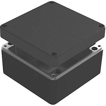 Recintos de Deltron 487-161609B-68 Caja Universal 160 x 160 x 90 aluminio azul 1 PC