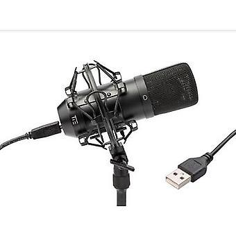 Tie Studio Condenser Mic SW USB studio microphone Corded incl. shock mount, incl. cable
