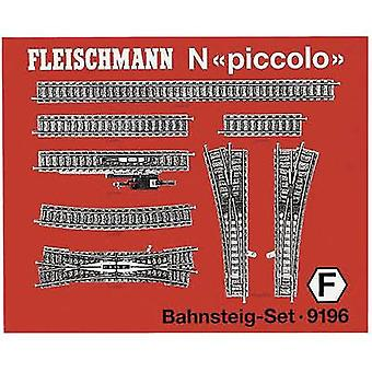 9196 N Fleischmann piccolo (incl. track bed) Expansion set