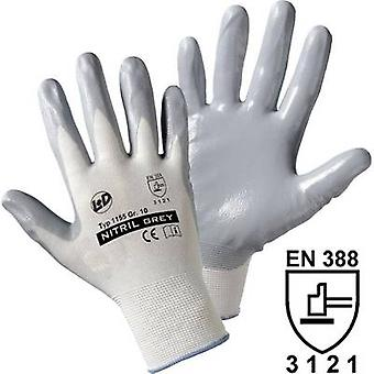 L+D worky Nitril- knitted 1155 Nylon Protective glove Size (gloves): 9, L EN 388 CAT II 1 pair