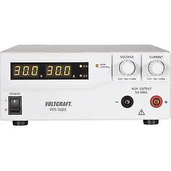 VOLTCRAFT PPS-11603 Bench PSU (adjustable voltage) 1 - 60 V DC 0 - 2.5 A 160 W USB , Remote programmable No. of outputs 2 x