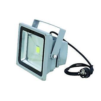 Eurolite LED IP FL-30 utomhus LED spotlight No. lysdioder: 1 x 36 W Silver