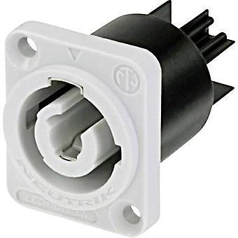 Neutrik NAC3MPB Mains conector powerCON Series (conectores de rede) powerCON Plug, montagem vertical Número total de pinos: 2 + PE 20 A Grey 1 pc (s)
