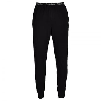 Calvin Klein One Cuffed PJ Lounge Pants, Black, Small
