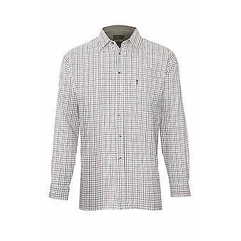 Mester Mens Ayr landet stil Casual langermet skjorte