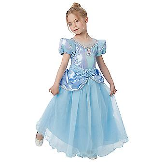 Cinderella premium princess dress luxury Princess costume child