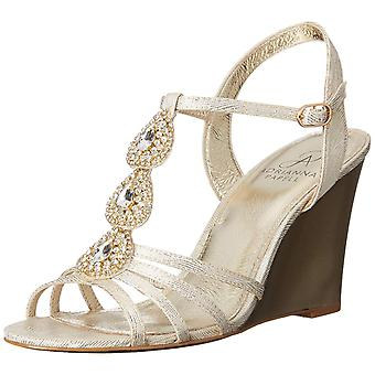 Adrianna Papell Womens Kristen tessuto Round Toe speciale occasione Slingback Sa...