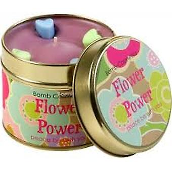 Bomb Cosmetics Tin Candle Flower Power