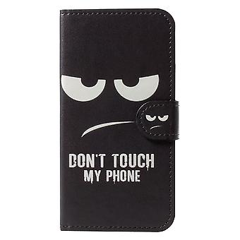 iPhone X / XS Wallet Case - Don't Touch My Phone