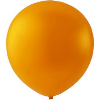 50-pakkaus ilma pallot oranssi