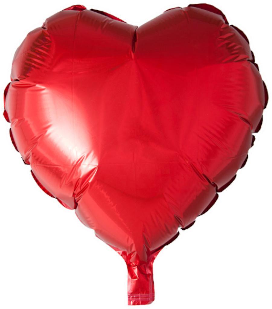 Hjärtformad folie Ballong - 46 cm (18